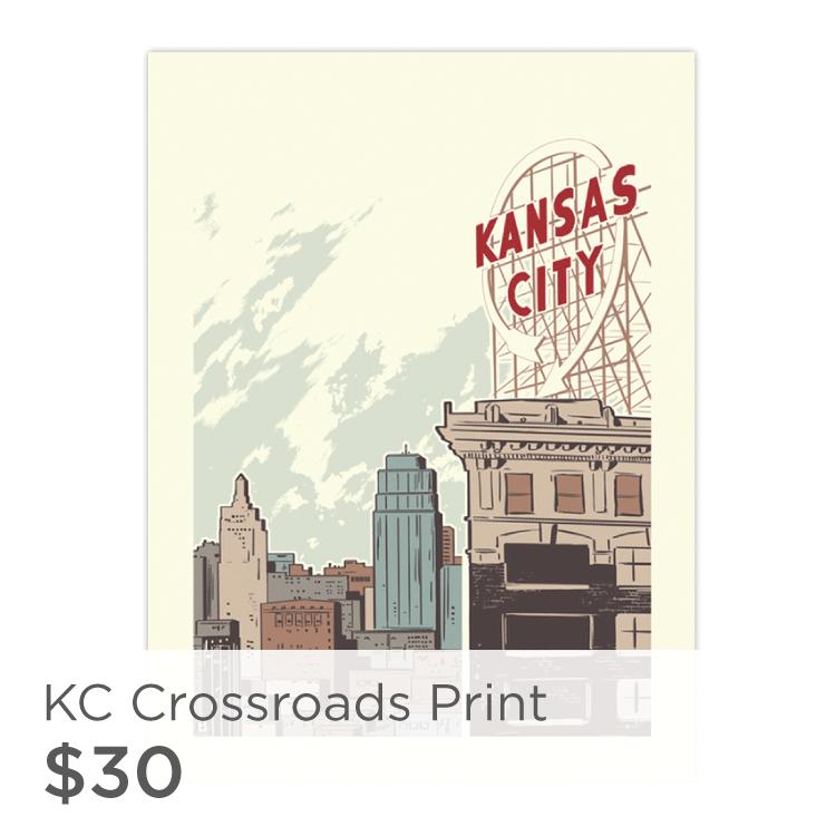 Kansas City Crossroads Print