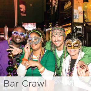 Mardi Gras KC Bar Crawl