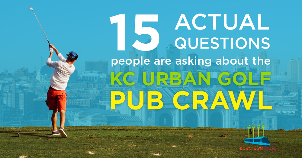 15 Questions About the KC Urban Golf Pub Crawl