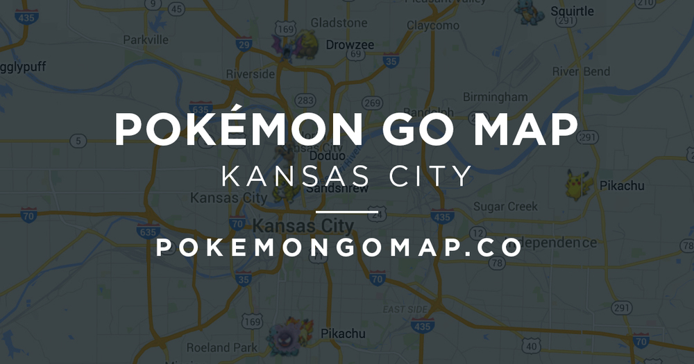 Kansas City Pokémon Go Map