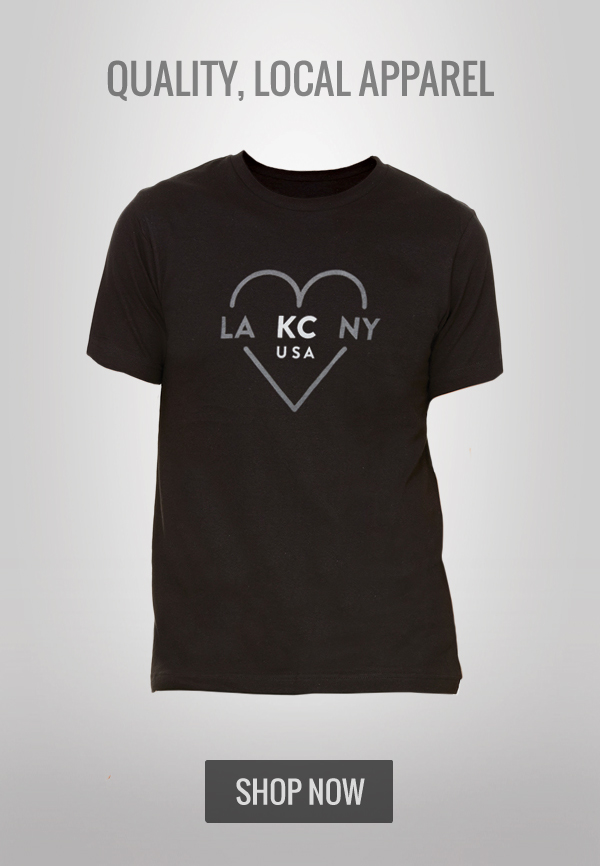 LA KC NY Black Shirt
