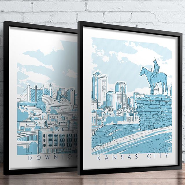 Walls are getting an upgrade over here. Just added these to our shop. Looking great, @bozzprints