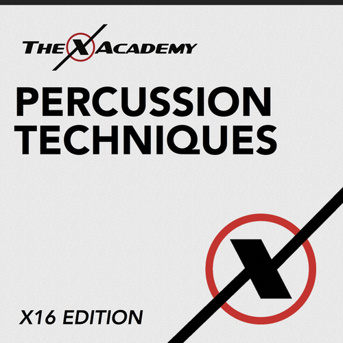 Click here to download the X16 Percussion Techniques packet. Learn all the music Rhythm X learns to become great!