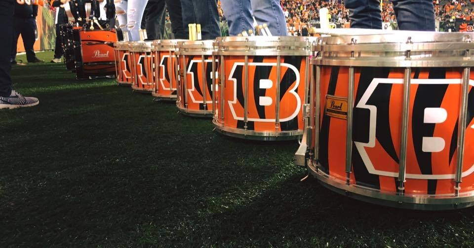 A big shout out to Pearl and ON2 Percussion for the killer drums and wraps! Who-Dey.