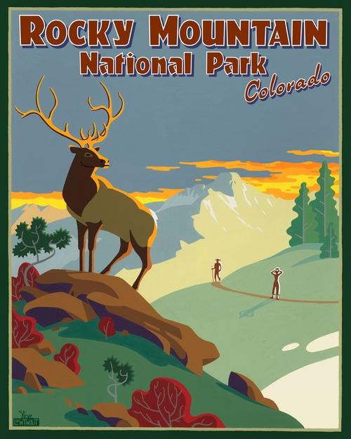 Colorado Posters — Steve Lowtwait Art - Artwork by Steve Lowtwait