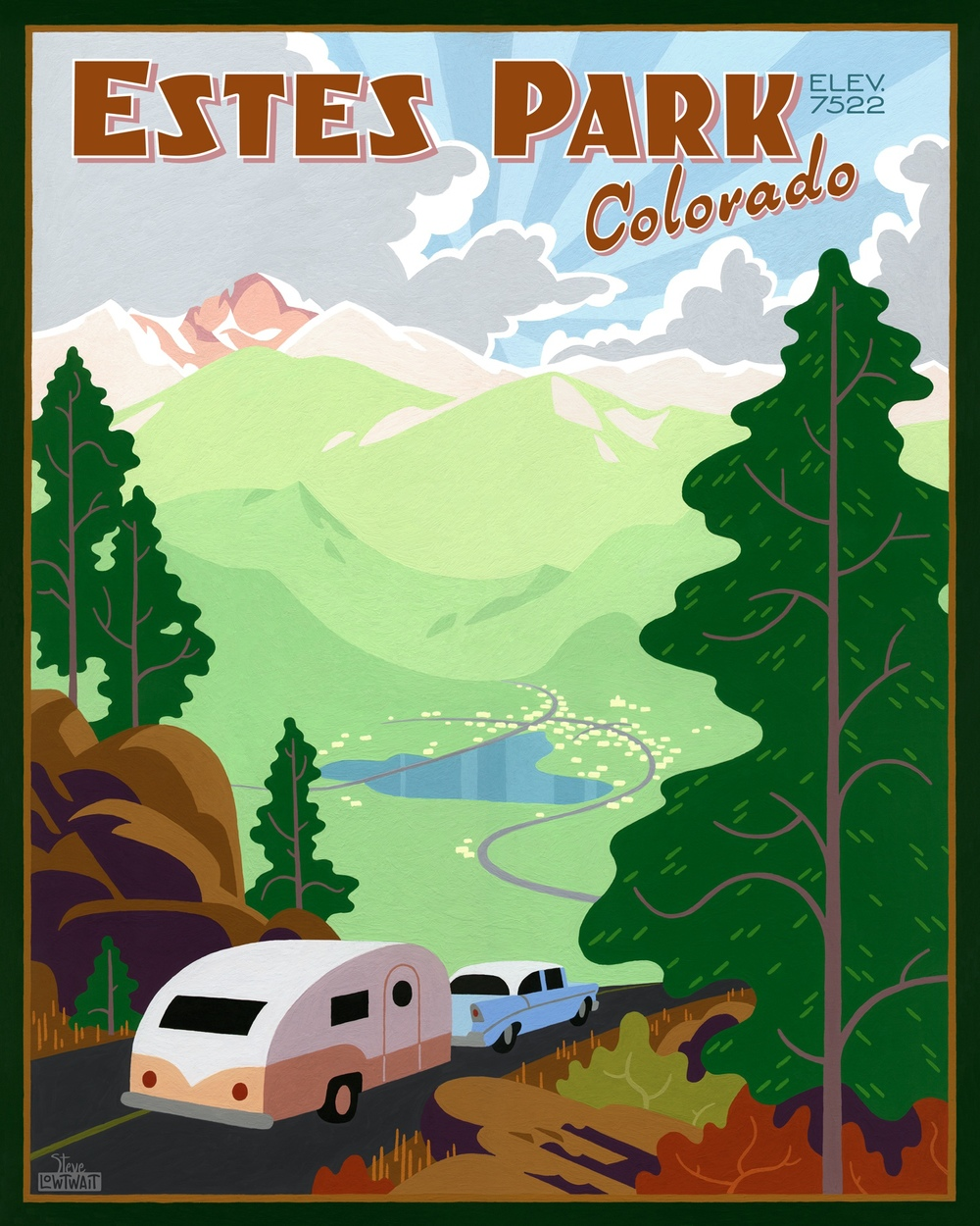Estes Park, Colorado • Buy