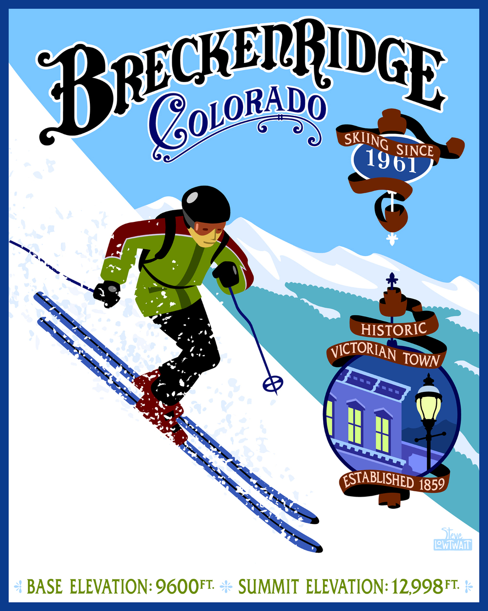 Ski Breckenridge, Colorado •  Buy