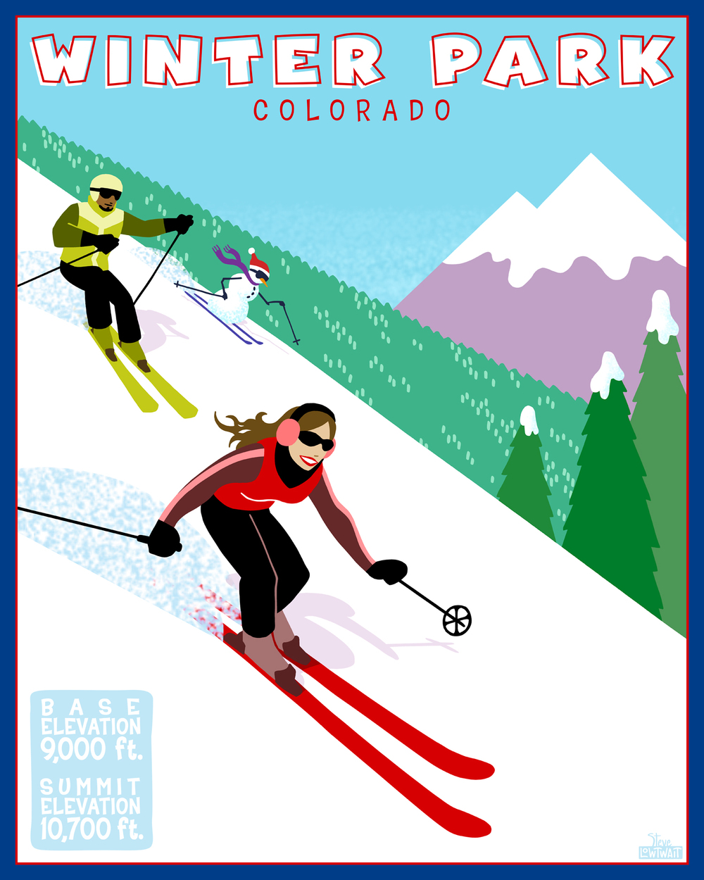Ski Winter Park, Colorado• Buy