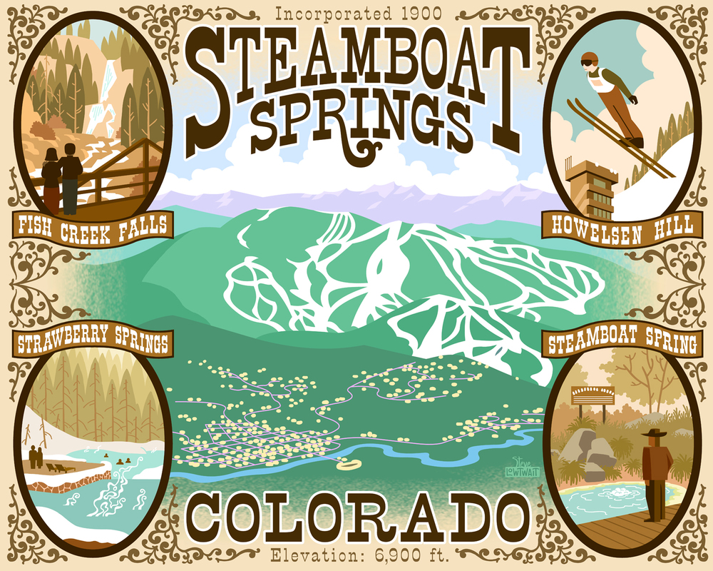 Ski Steamboat Springs, Colorado •  Buy