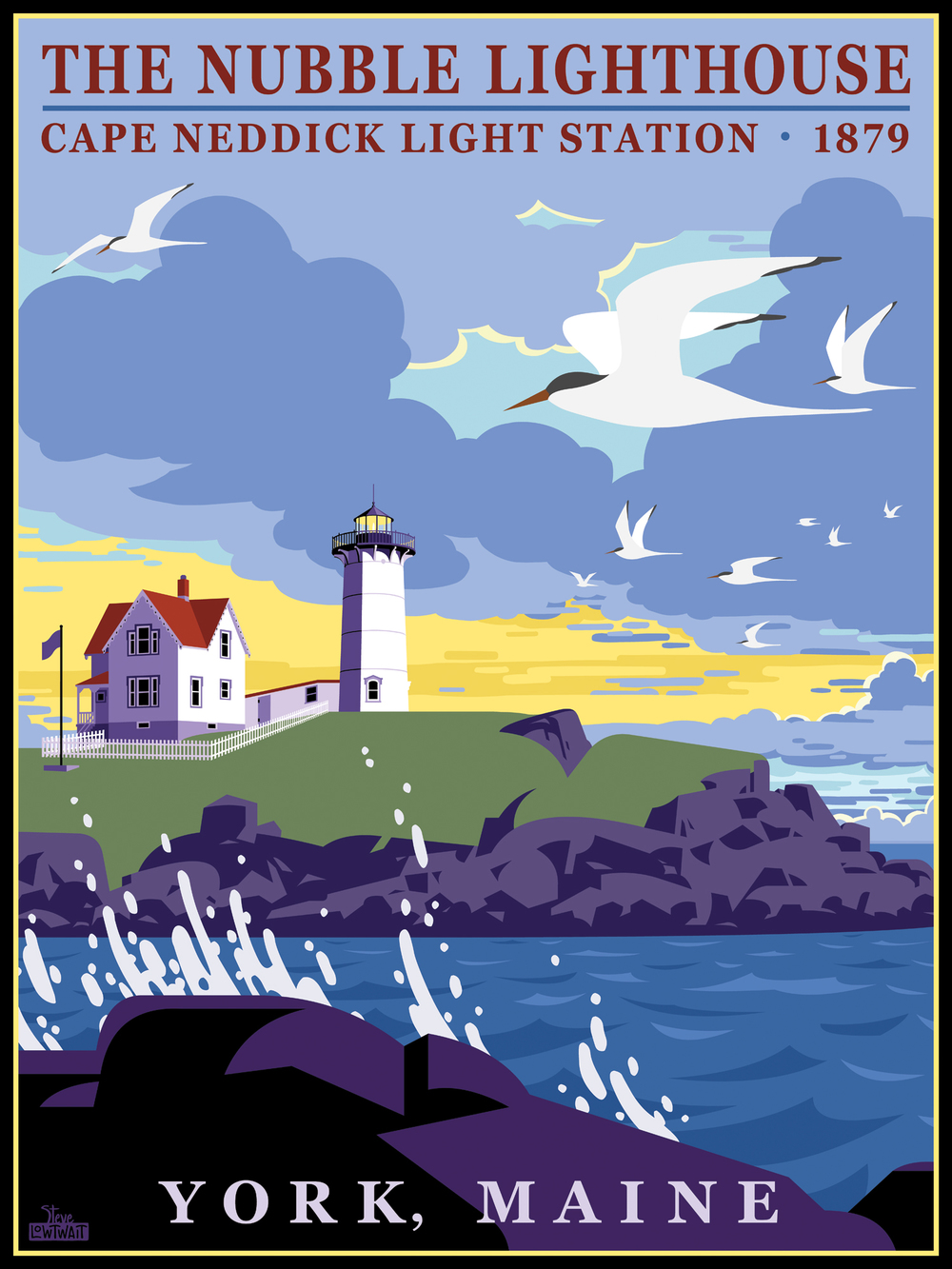 Nubble Lighthouse • Client: York, Maine Chamber of Commerce