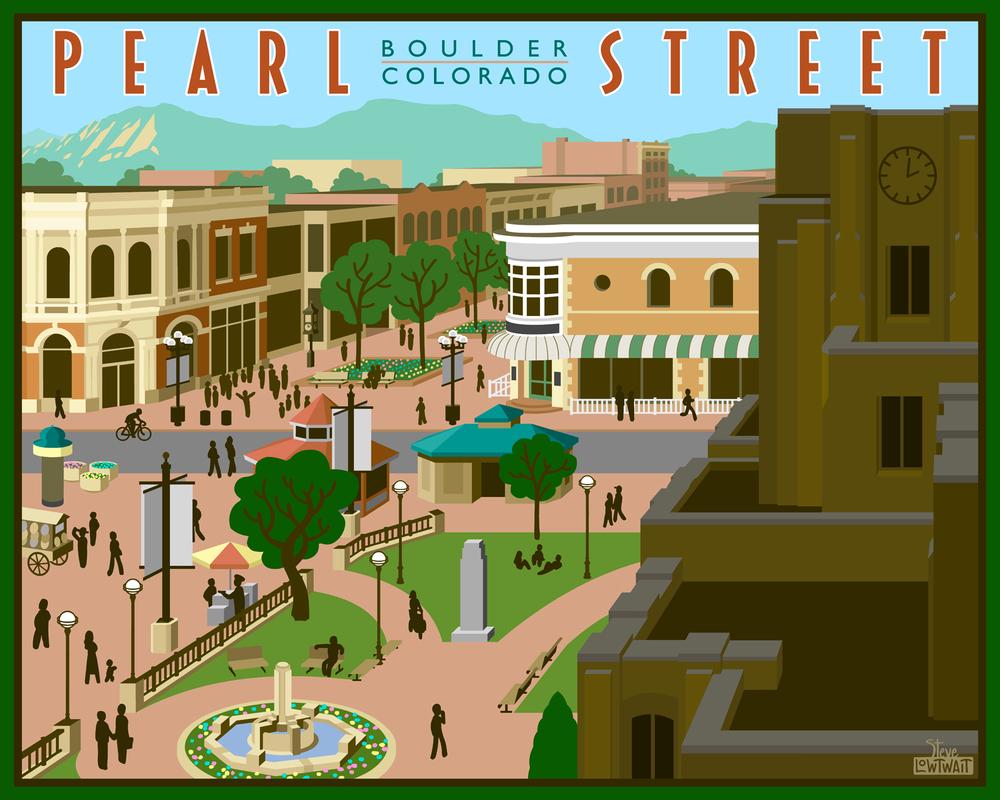Pearl Street Mall - Boulder, Colorado• Buy