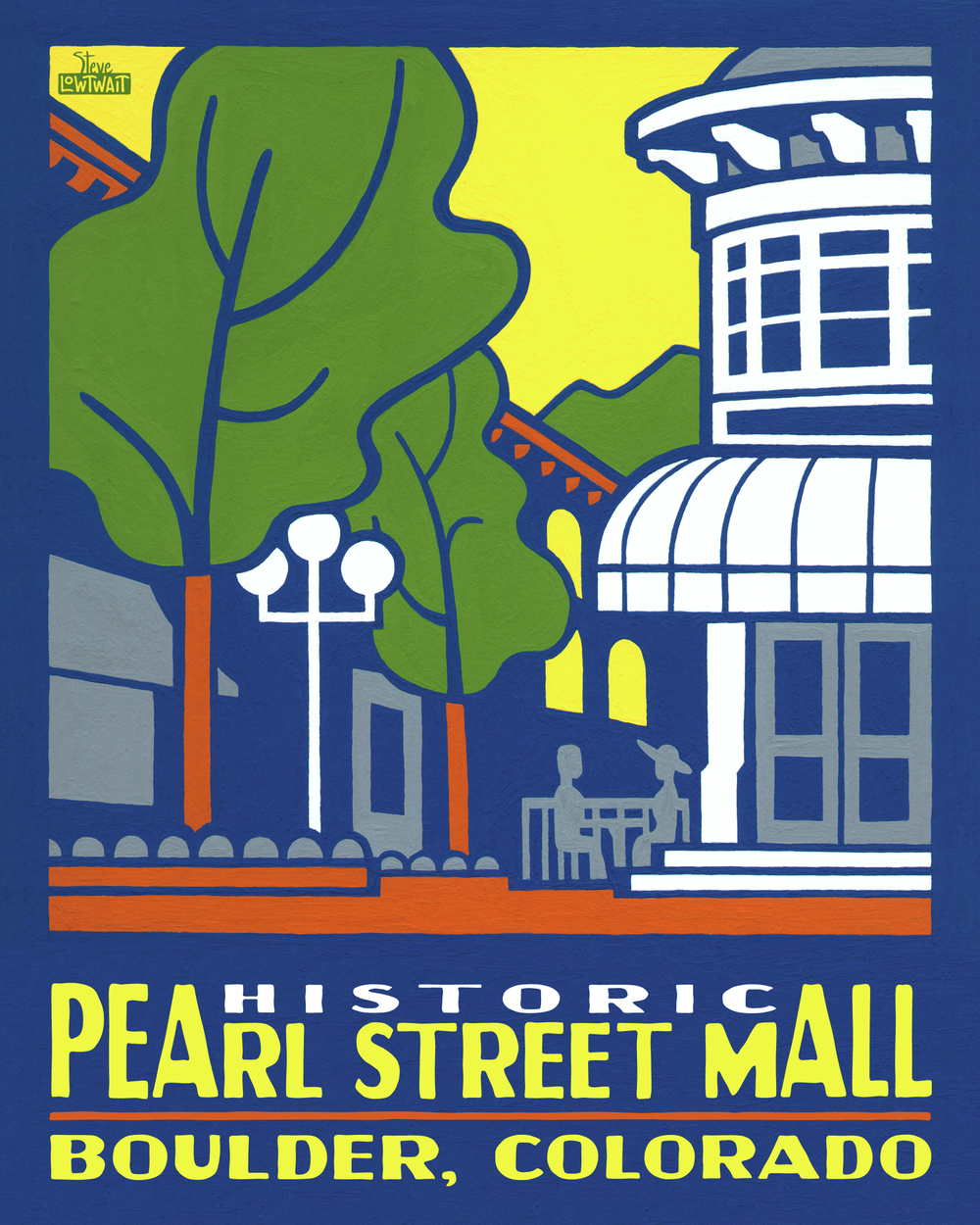 Pearl Street Mall - Boulder •  Buy
