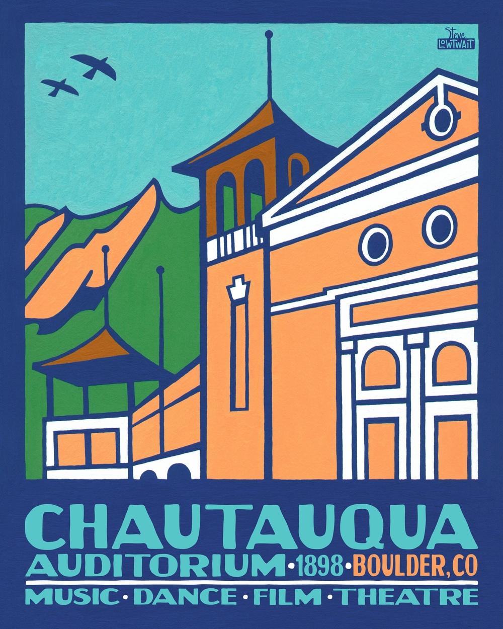 Chautauqua Auditorium,Boulder• Buy