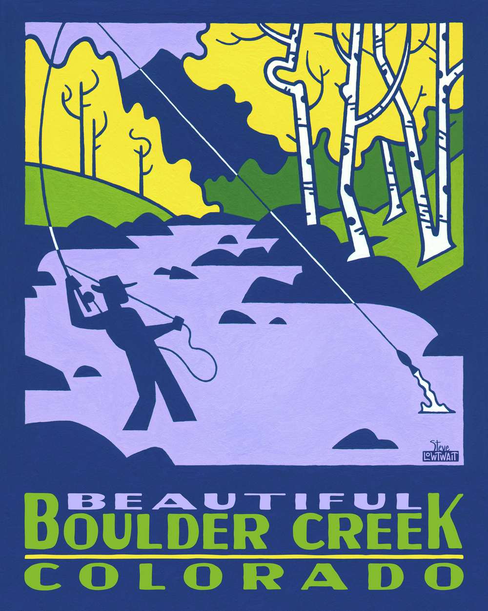 Boulder Creek - Colorado • Buy