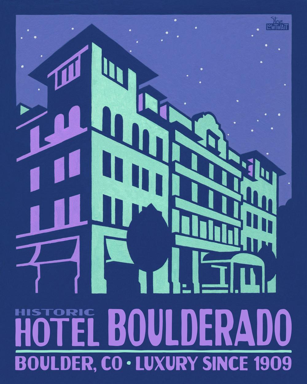 Hotel Boulderado - Boulder •  Buy