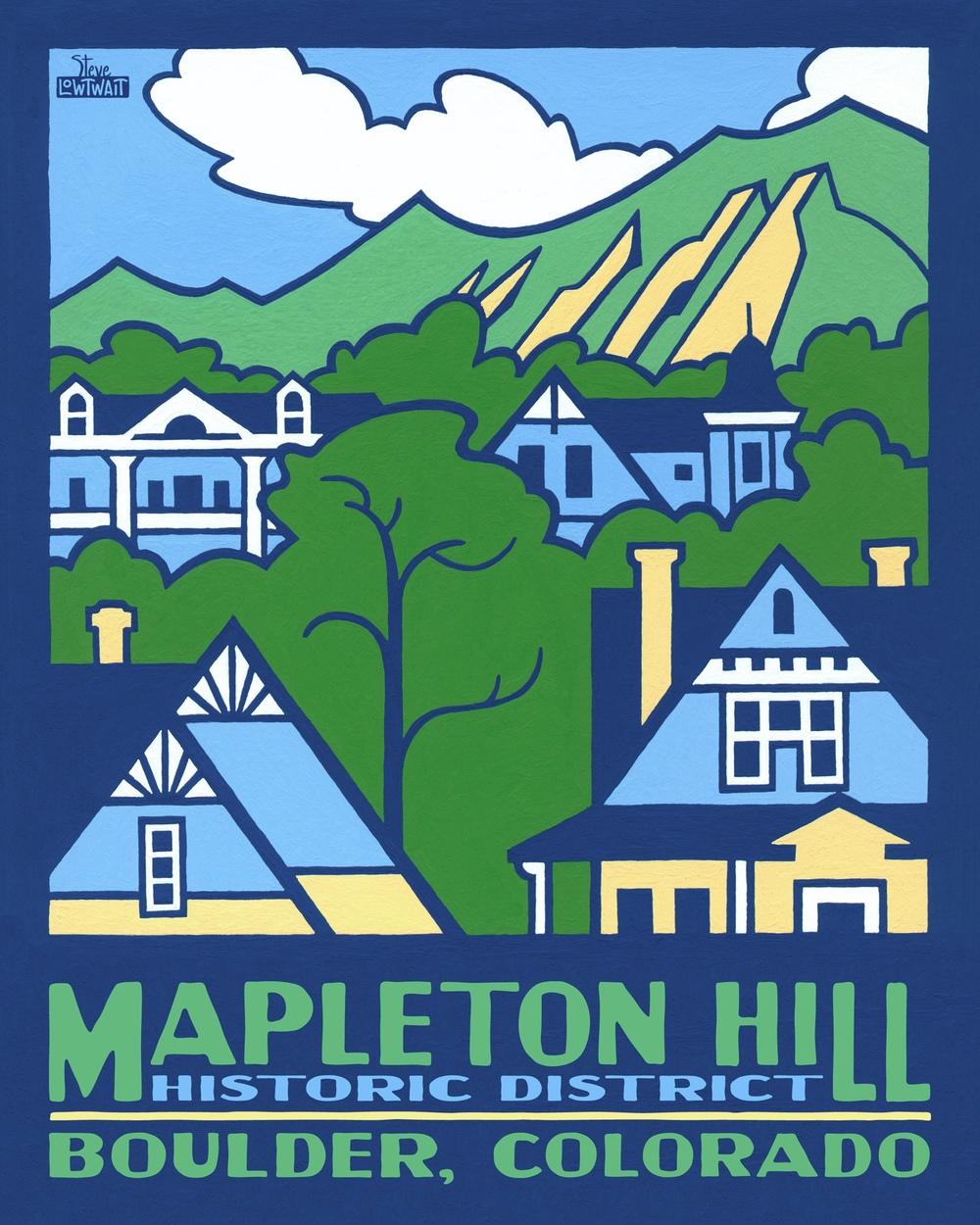 Mapleton Hill - Boulder, Colorado• Buy