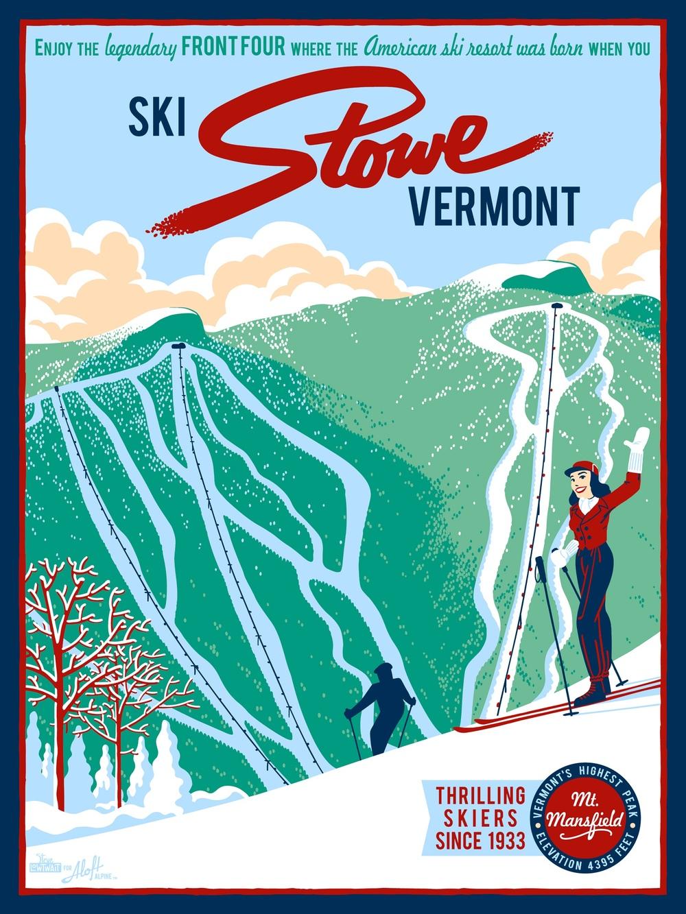 Ski Stowe, Vermont