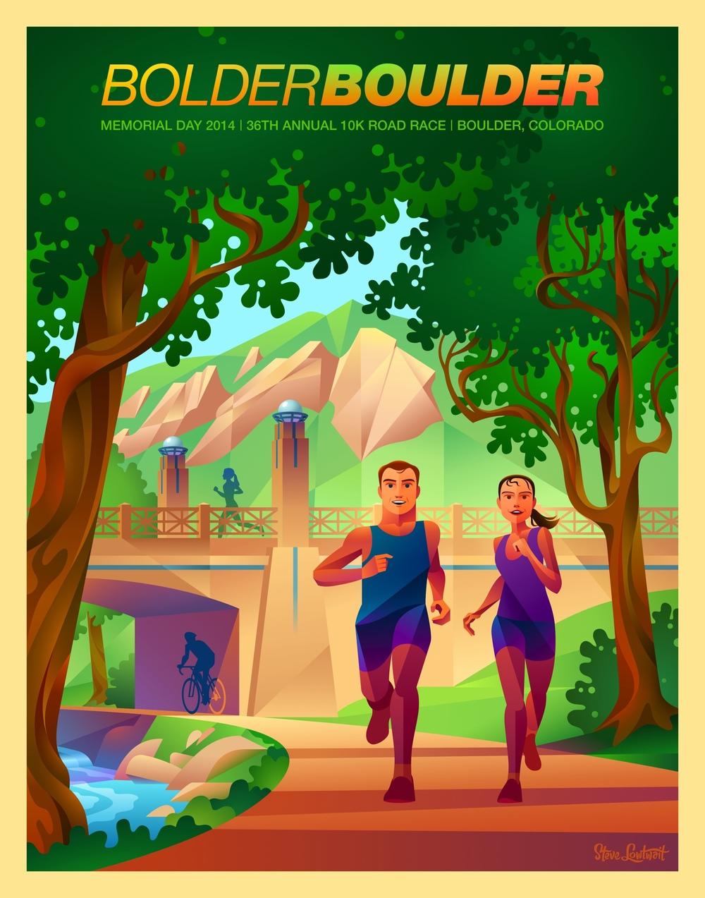 Bolder Boulder, 2014  •  Buy  •  Client: Bolder Boulder