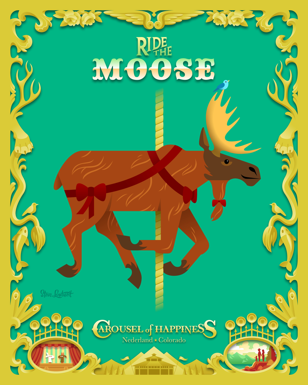 Ride the Moose