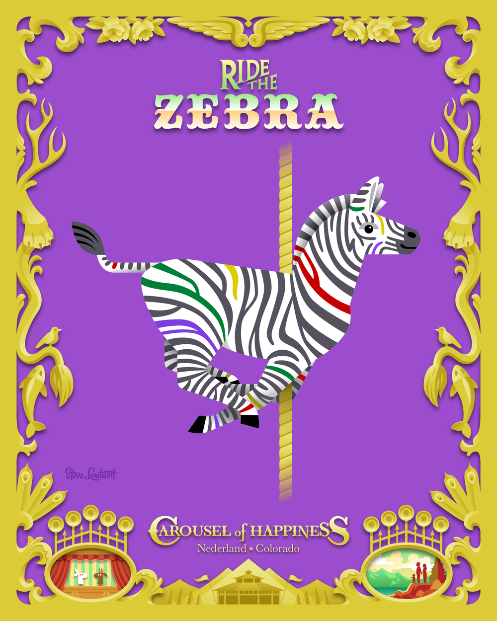 Ride the Zebra