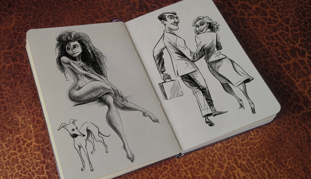 Sketchbook -