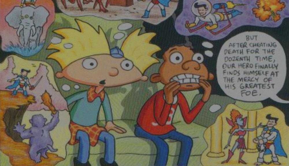 Comics - for Nickelodeon Magazine