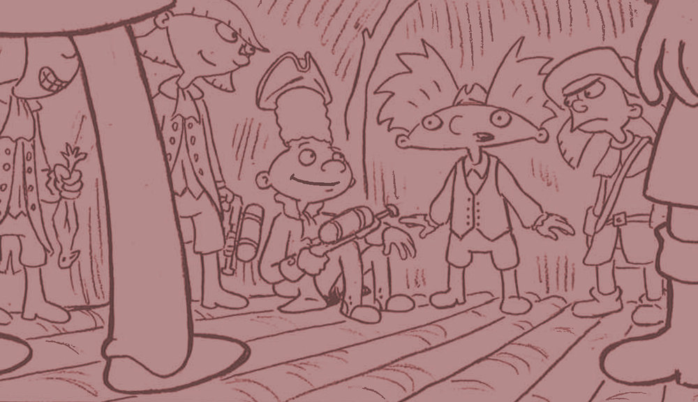 Storyboards - Hey Arnold! the Series