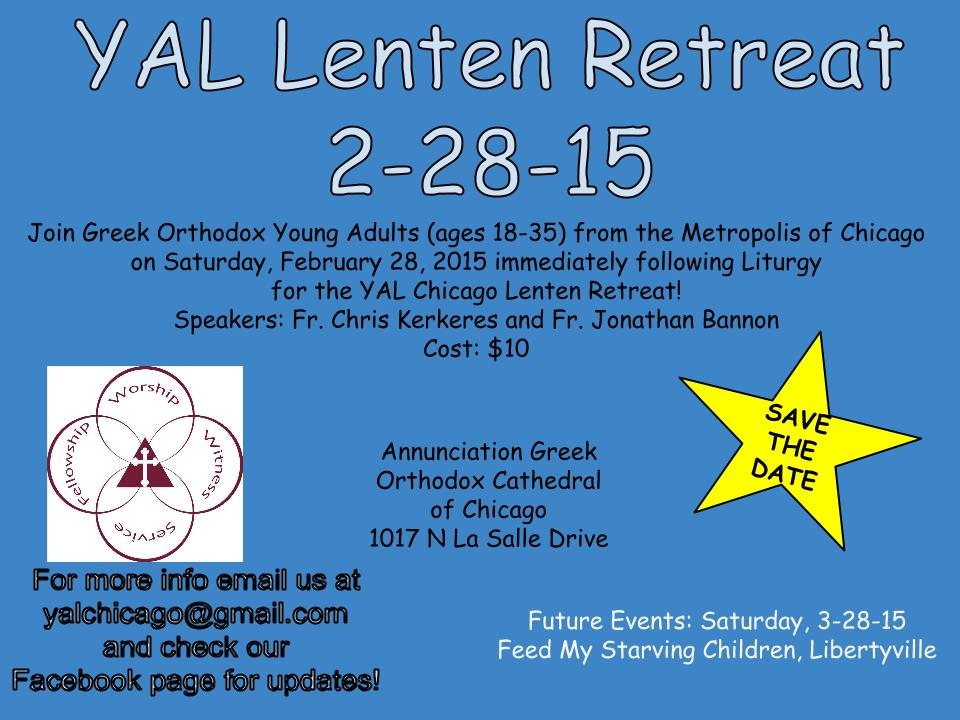 YAL Lenten Retreat