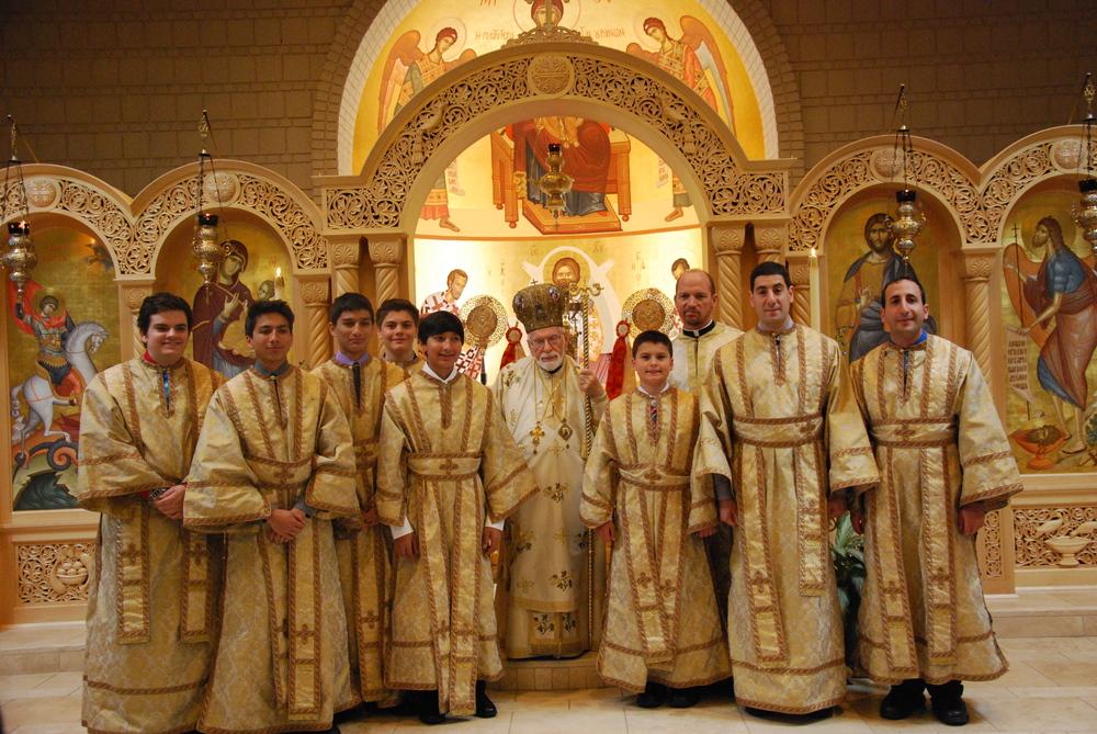 liturgy met iakovos w acolytes.JPG