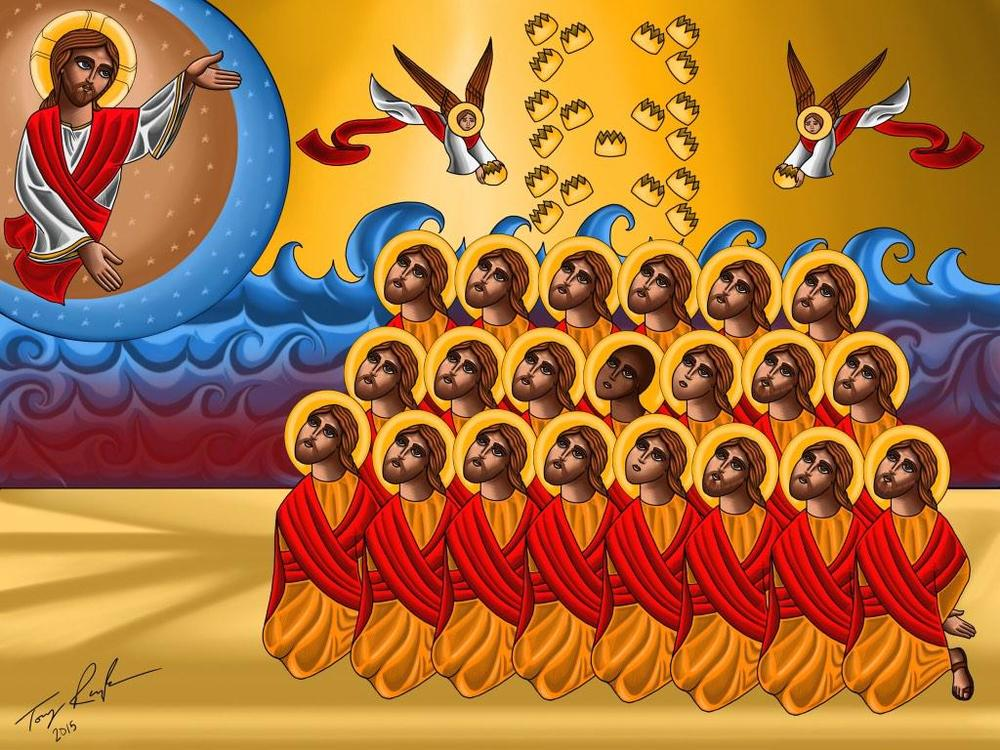 The 21 Holy Coptic Martyrs