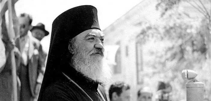 Former Archbishop of Athens, Damaskinos