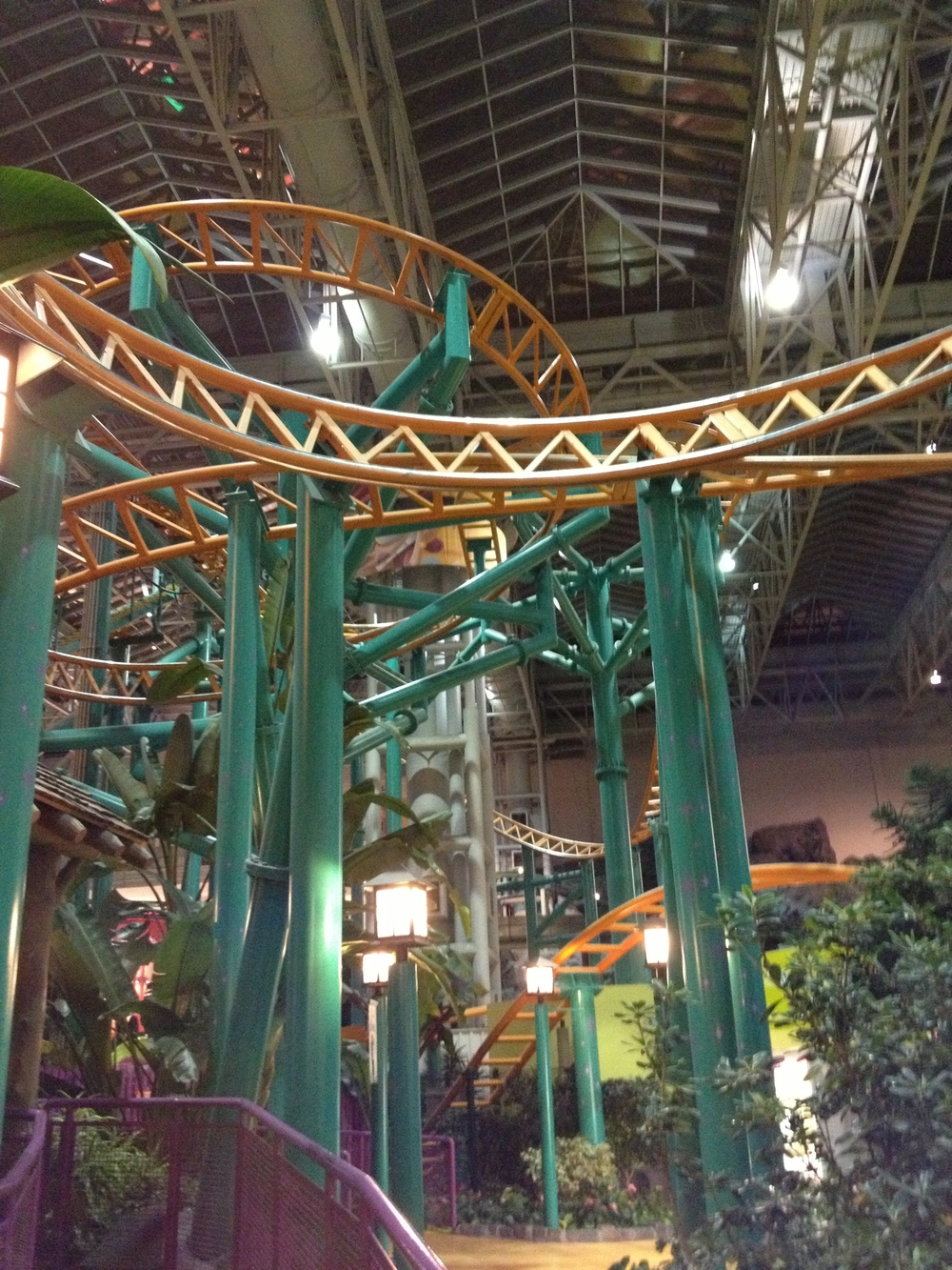 There were a couple of new roller coasters that I really enjoyed... my last visit had been as a 12 year-old.  Luckily they still had the log chute!