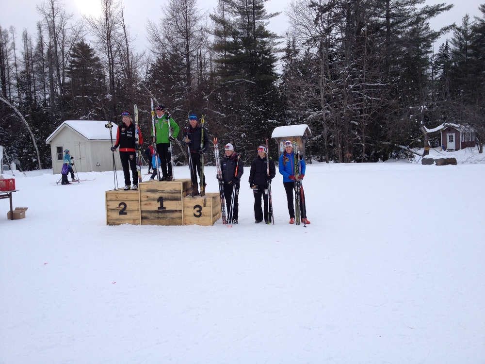 Craftsbury podium
