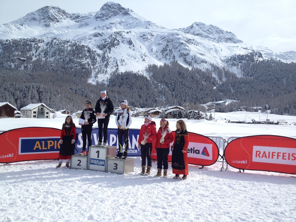 Erika Flowers won the Swiss Cup in Silvaplana!