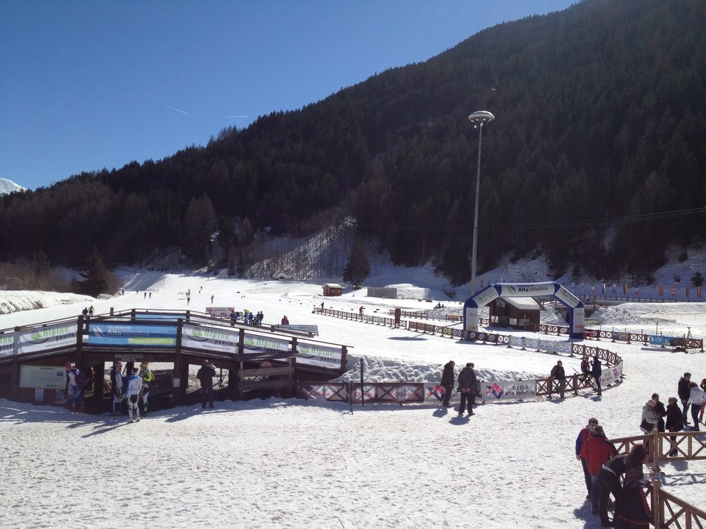 OPA Finals venue in Valdidentro, Italy