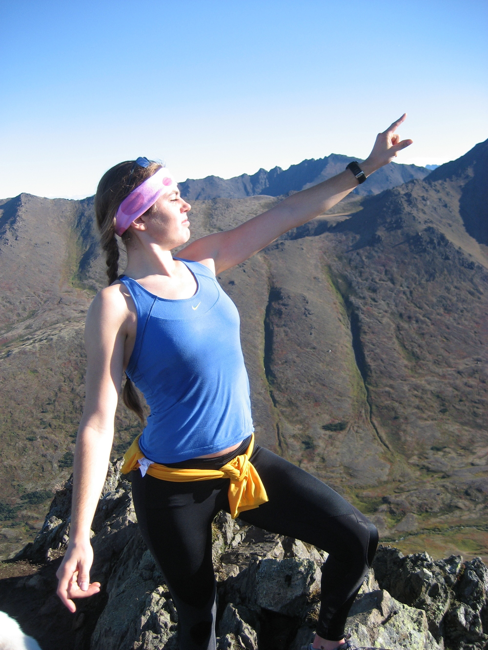 Onwards to summer training!! (throwback image from Wolverine peak in 2010... I can't wait to do some awesome Anchorage mountain running!)