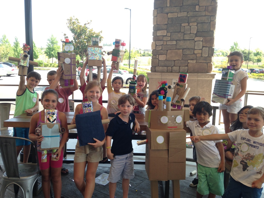 Robots made recently at Whole Foods Market - Folsom