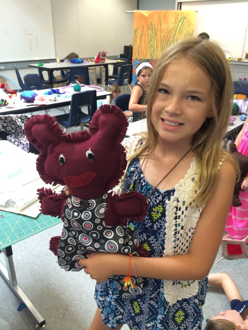 Designed and sewn stuffed animals.