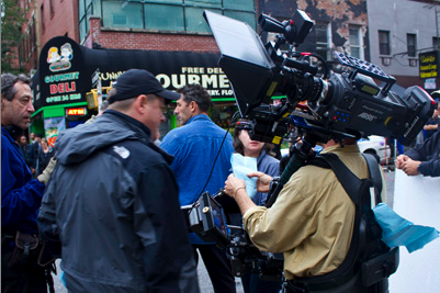 Arri Alexa on Law and Order: SVU set. Photo by Daniel P. Fleming