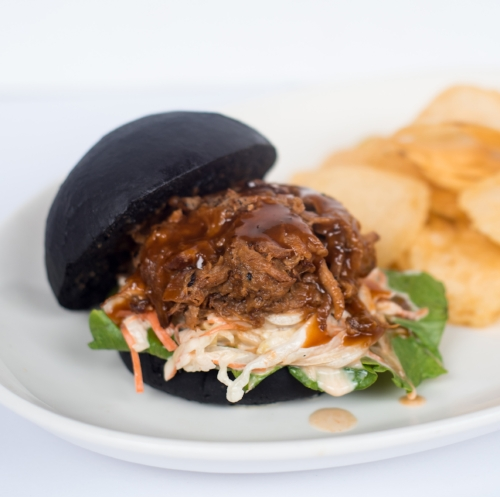 Miso Pulled Pork Burger