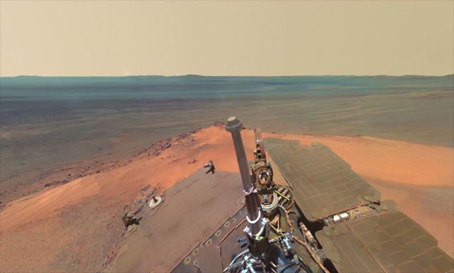 View from Mars (http://mars.jpl.nasa.gov)