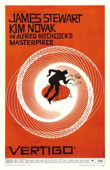 """""""VÉRTIGO"""", cartel. Fuente Wikipedia."""