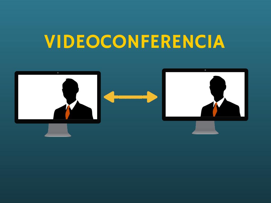 """Videoconferencia """"uno-a-uno"""". Canva Design."""