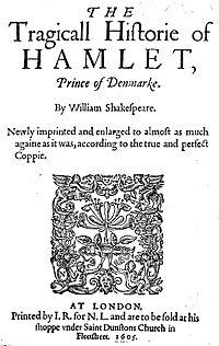 Portada de la edición de 1605. Fuente: Wikipedia