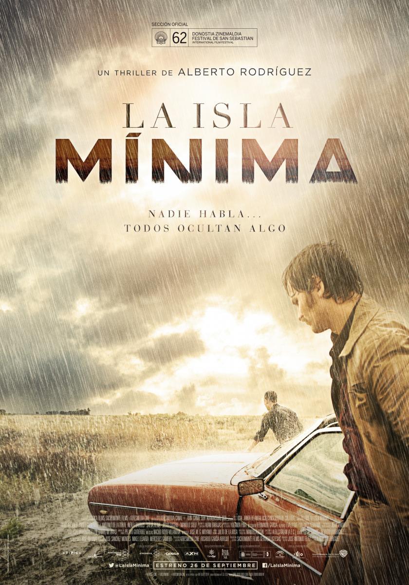 La Isla Mínima. Cartel Cines.