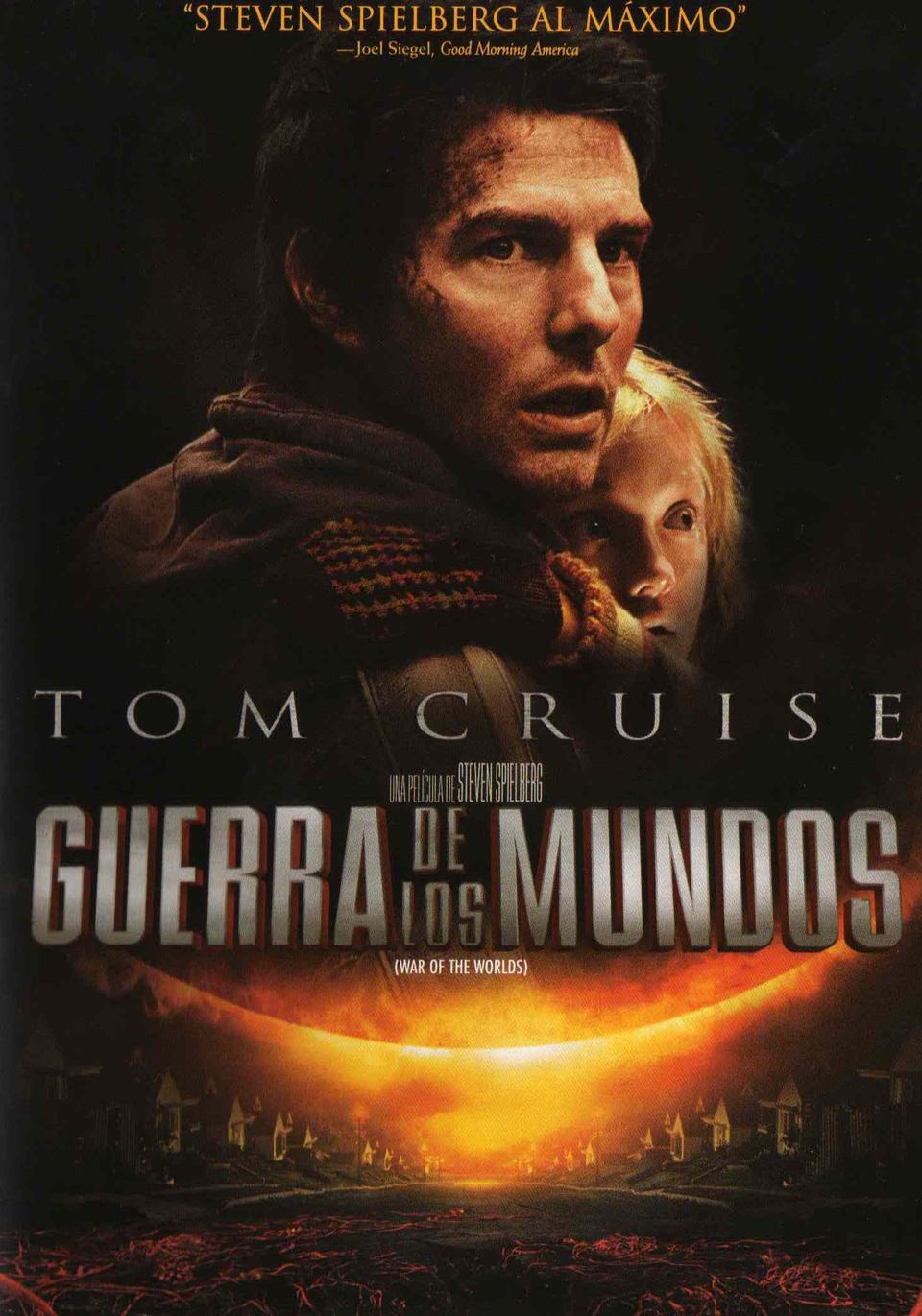 'La Guerra De Los Mundos', cartel de cines.