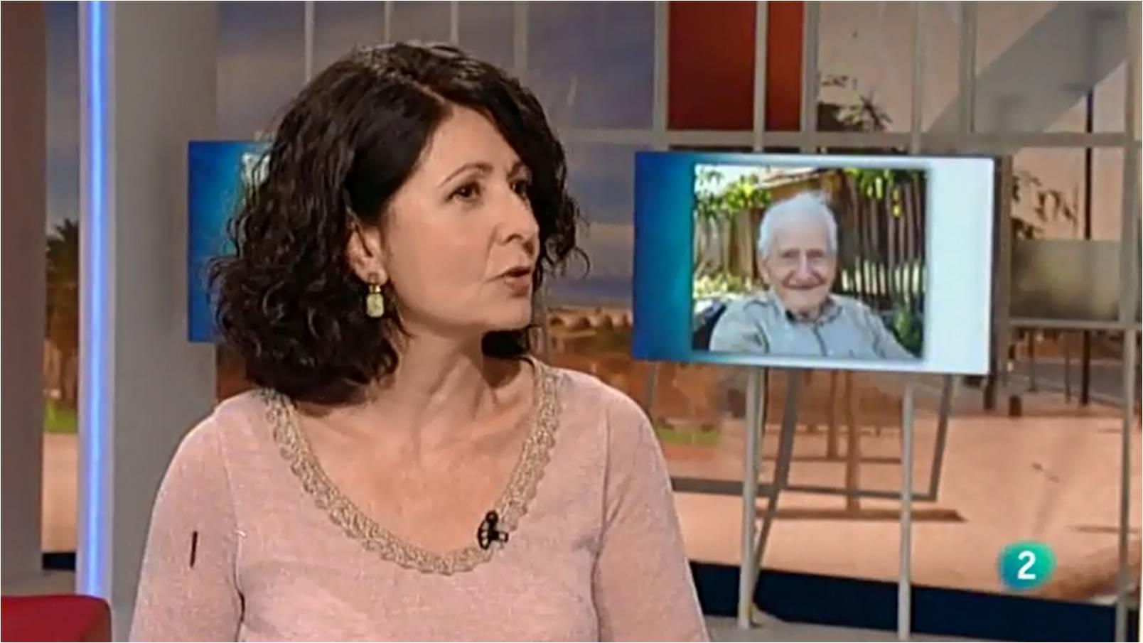 """Teresa Baró en """"Para Todos la 2"""". Foto: teresabaró.com."""