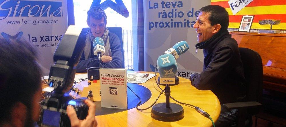Click en la imagen para escuchar la entrevista en 'Fem Girona'