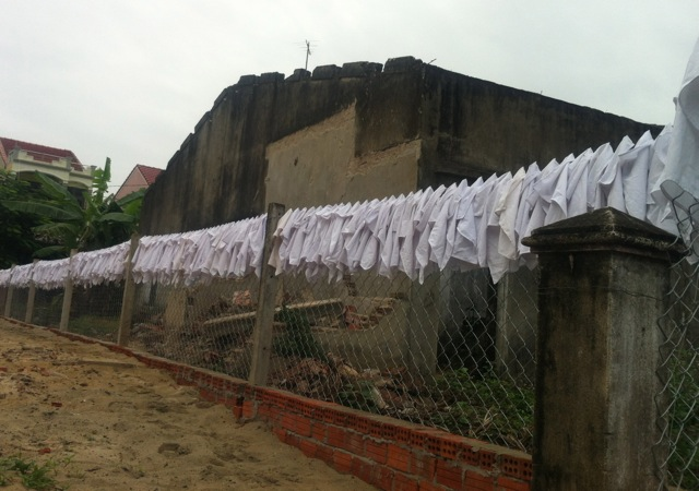 The quirky  - always in search of quirky, I was delighted to find that special place where serviettes go to dry.