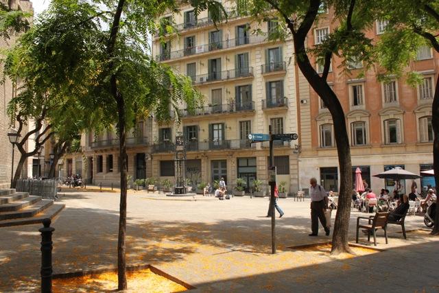 My neighbourhood plaza